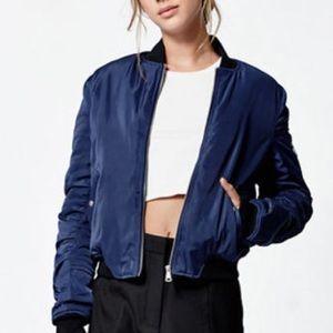 LA Hearts Nylon Bomber Jacket